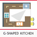 G-Shape Kitchen