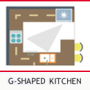 G-Shape Kitchen