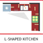 L-Shape Kitchen