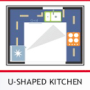 U-Shape Kitchen