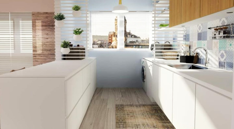 U-Shape Kitchen-7