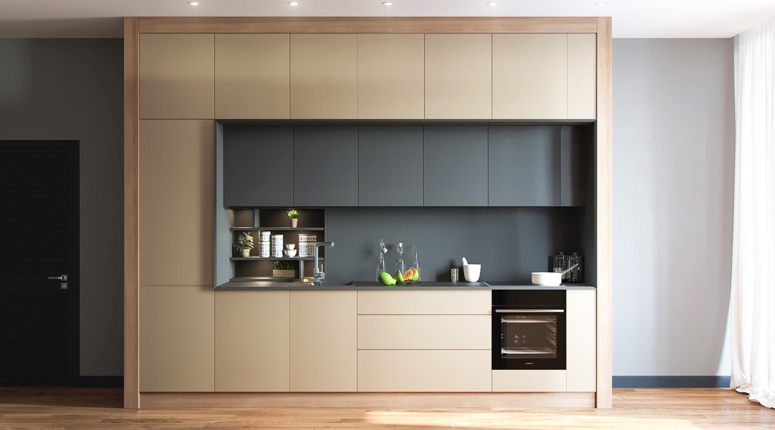 One-wall Kitchen-best interiors in electronic city bangalore