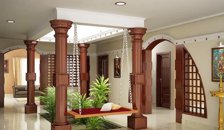 Country Style Interior PSR Krish Kamal Sai Comforts Sipani Bliss - II SK Daisy SRK Silicon SRK Samrudhi Suites VBM Bren Woods Villa Garden
