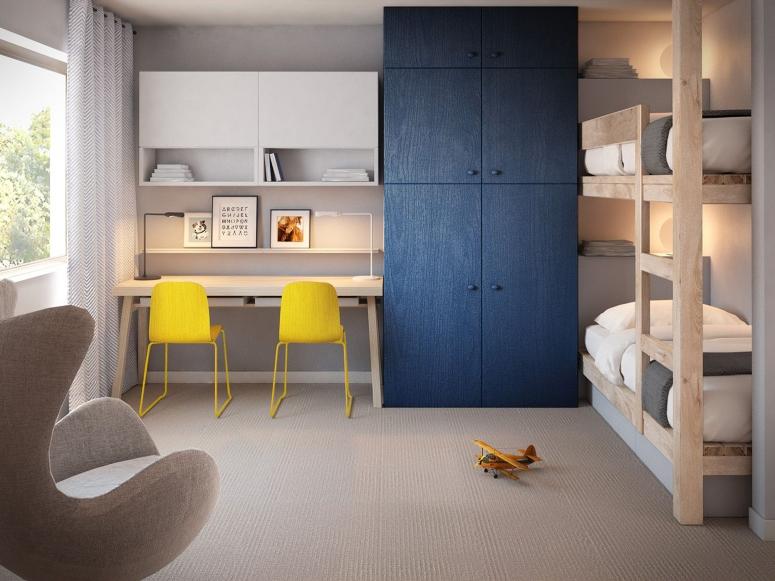 Kids Wardrobes - apartment in kudlu gate bangalore best interiors in hsr layout bangalore best interiors in hosur road bangalore