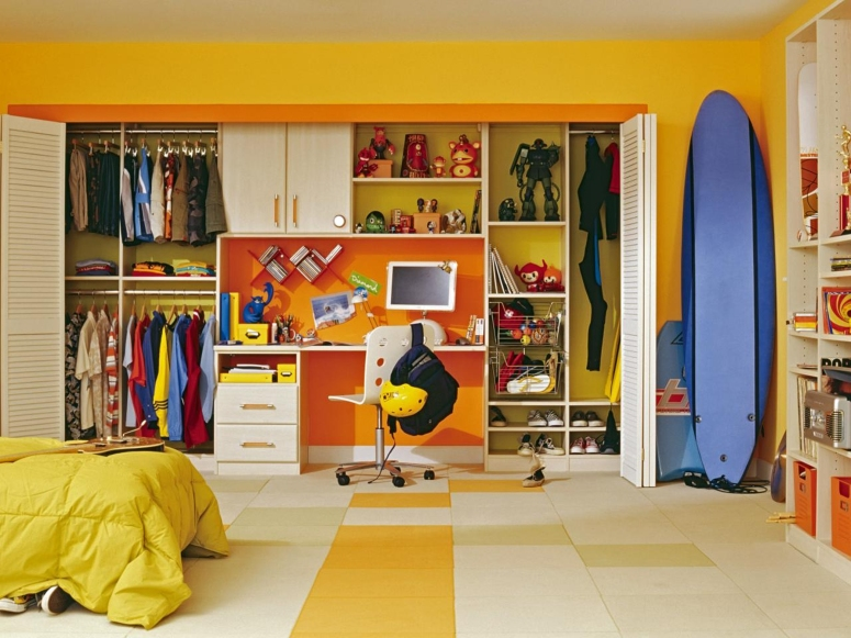 Kids Wardrobes - nivi craft vishnu interiors royallinks usk interior dezign my home interiors home sketch interior ask4solutions-architects & interiors