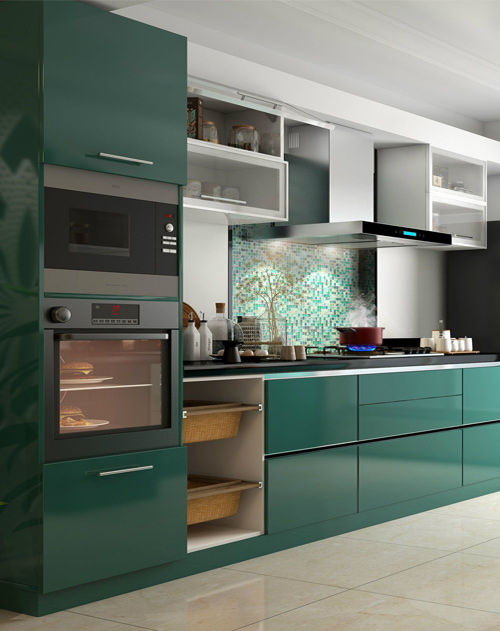 Kitchen Room Interior Design: Modular Kitchen
