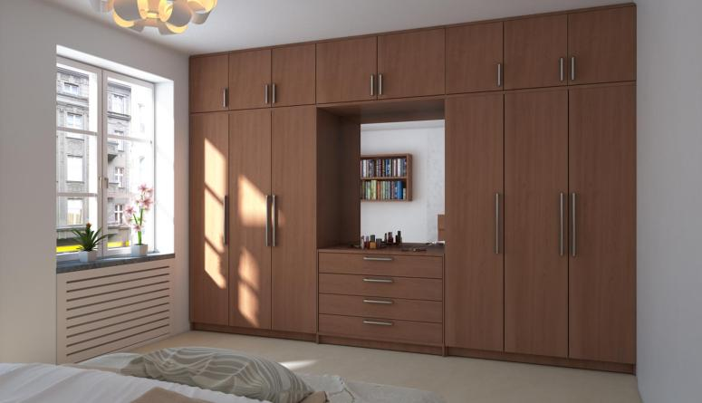 Swing Door Wardrobes - cheap and best interior designers in bangalore gm infinite ecity town GM Ambitious Enclave shriram signiaa electronic city