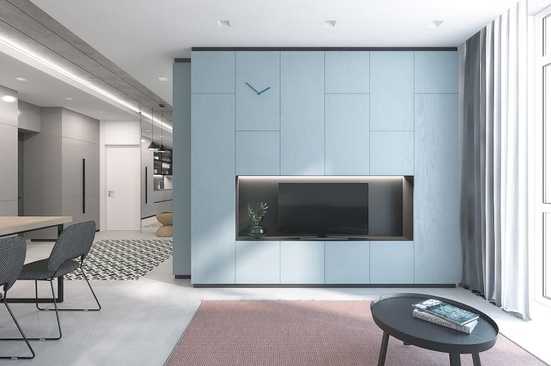 TV Entertainment Centre - best interior best interior decorator best interiors best interior designers shriram summitt best interiors