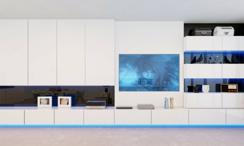 Wall mount Tv design - electronic city interior decorators list cheap and best interior designers in bangalore gm infinite ecity town GM Ambitious Enclave interior decorators in bangalore