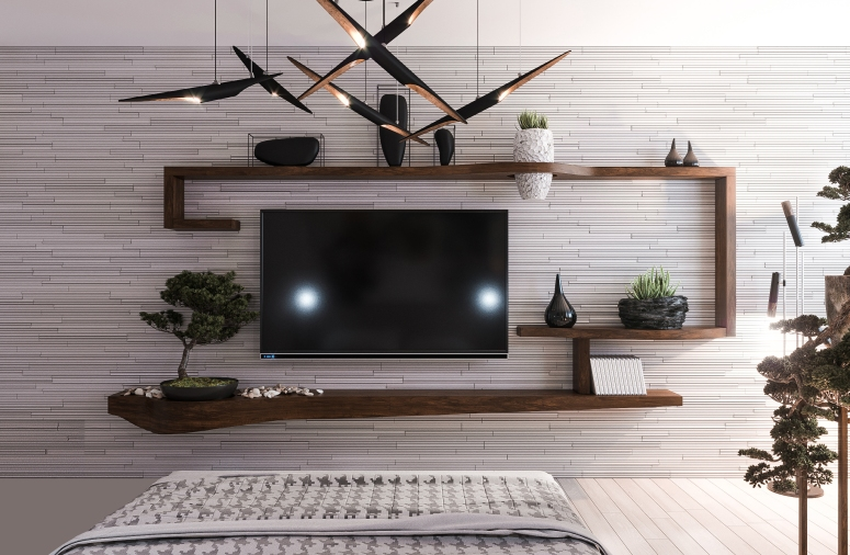 Wall mount Tv design - interior designers in electronic city bangalore interior designers in electronic city house interior design home painting