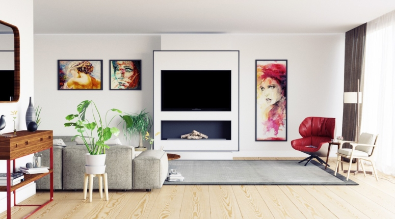 Wall mount Tv design - interior designers in electronic city interior designers in electronic city bangalore
