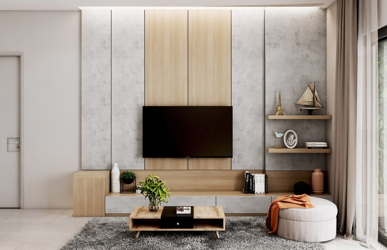Wall mount Tv design - top interiors in electronic city landmaar electronic city home automation in electronic city bangalore home automation systems