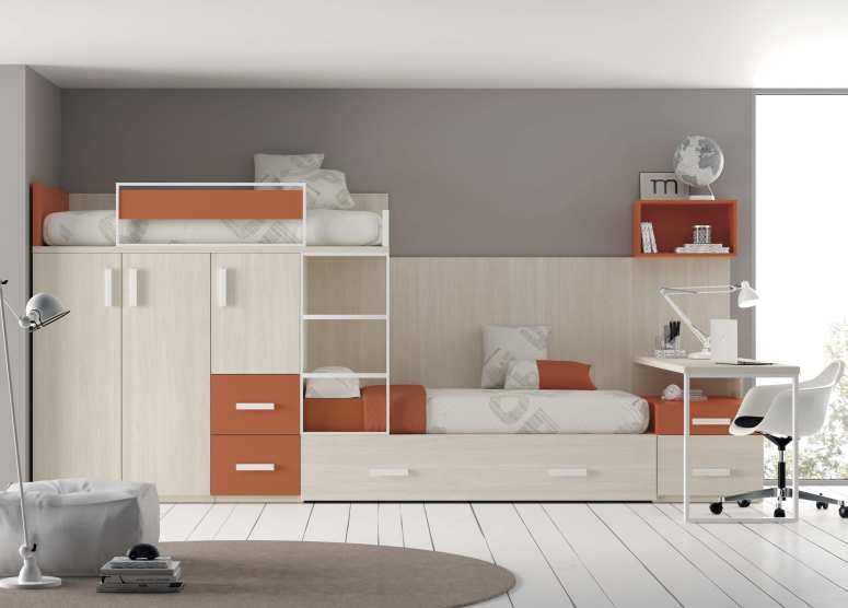 Wardrobe with a Mezzanine Loft - affordable interior designers near me commercial interior designershouse in electronic city entertainment for kids interiors in hsr layout