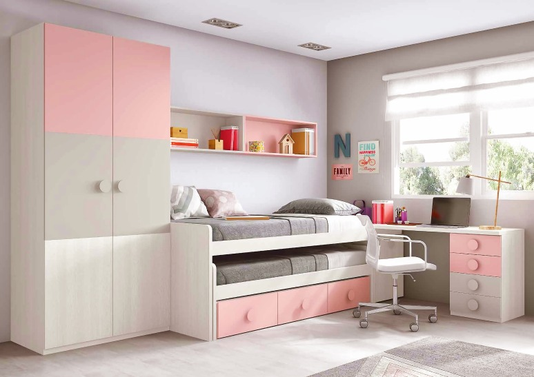 Wardrobe with a Mezzanine Loft - list of interior designers in electronic city bangalore interior design interior design near me interior designers near me interior design in whitefield bangalore