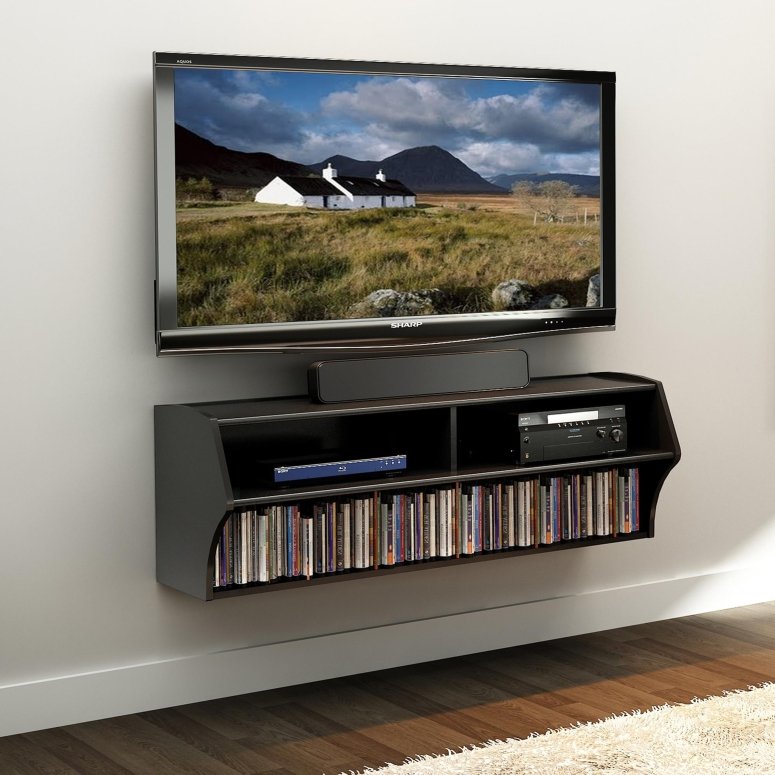 A floating console - interior design for tv wall mounting modern built in tv wall unit designs electronic city bangalore