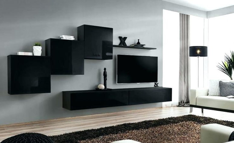 A floating console - living room tv wall design modern tv wall design ideas tv wall design wood