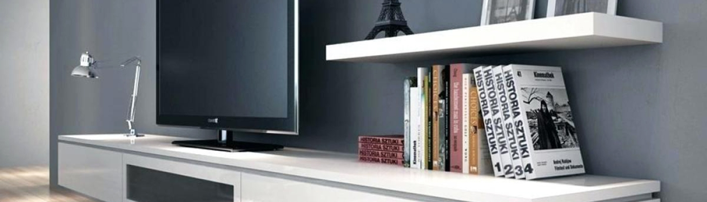 A floating TV Unit - Banner Electronic city interior design best interior decorators