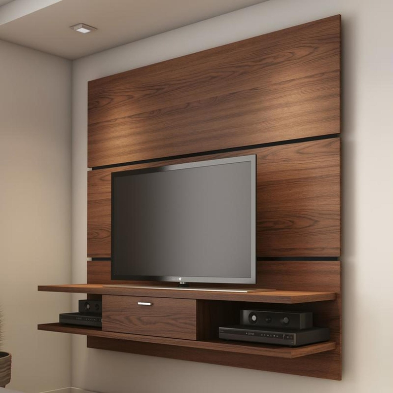 A floating TV Unit - PCR Garden Mall Electronic City Electronic City Best Interiors interior designers in electronic city electronic city best interiors