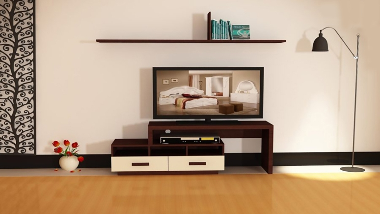 A Small TV Unit - interior designers in electronic city tv stand manufacturers in bangalore tv stand designs living room tv wall design