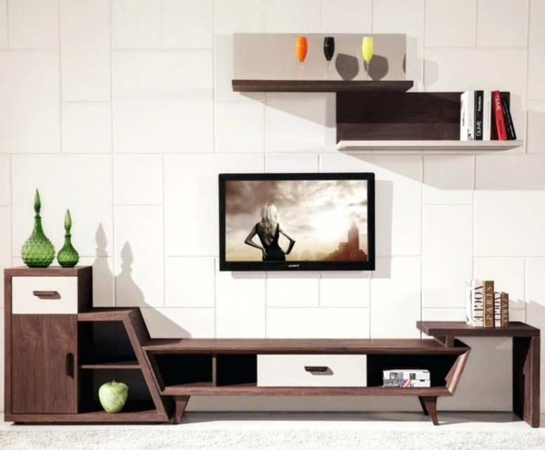 A Small TV Unit - modern tv wall design ideas interior design for tv wall mounting tv stand manufacturers in bangalore max electronic city