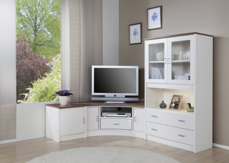 Corner TV Unit - flat interiors home interiors home interior electronic city interiors list green era