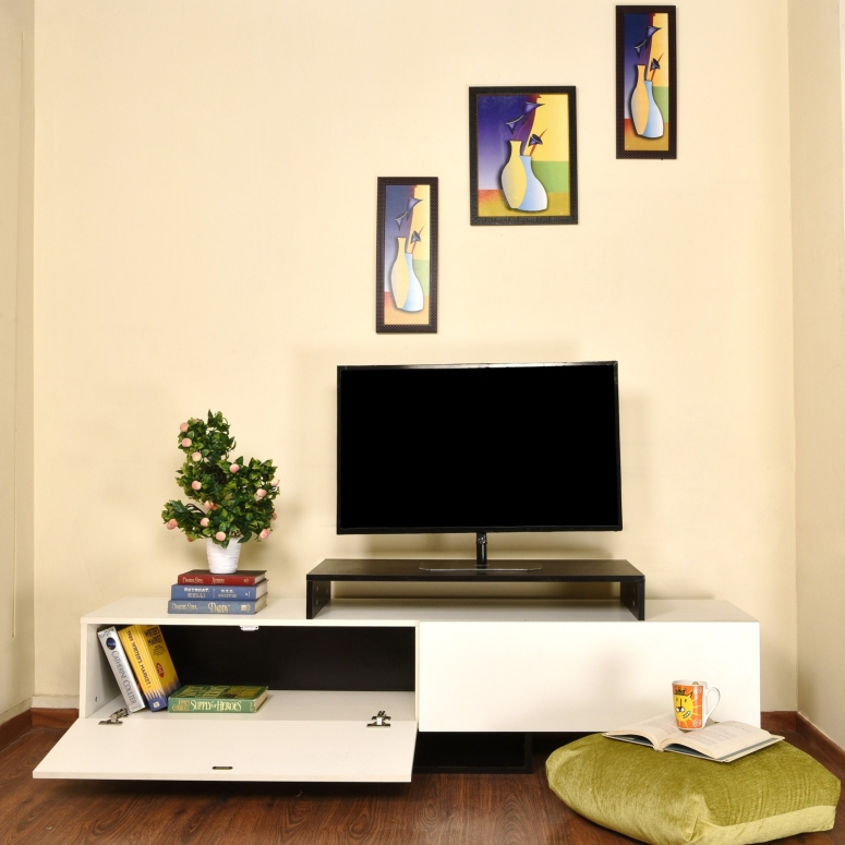 A Small TV Unit - affordable interior designers near me best interior designers near me commercial interior designers in bangalore cabinetry design