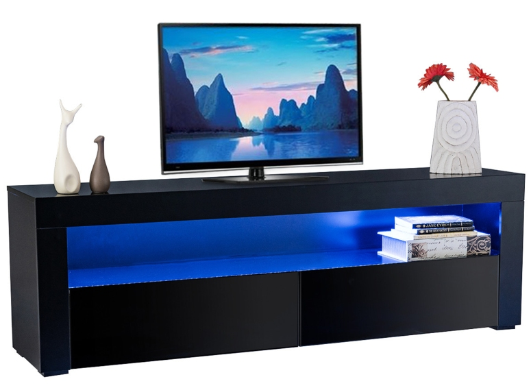 A Small TV Unit - budget interior designers in bangalore 2 bhk interior design bangalore electronic city interiors