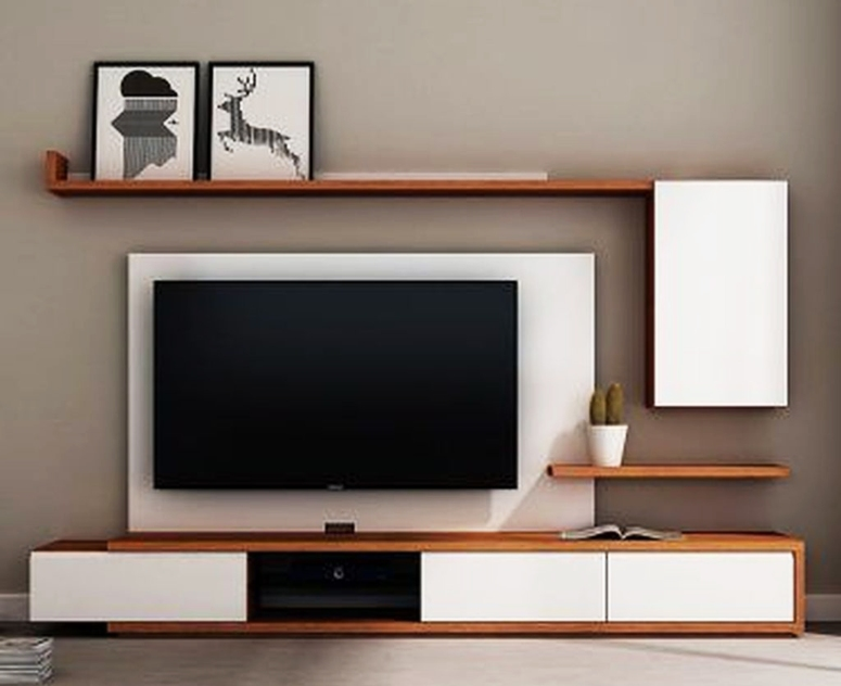 A Small TV Unit - purva smiling willows best interior designers in electronic city electronic city interiors