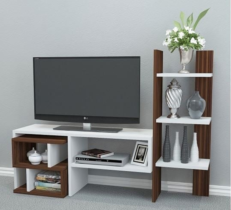 A Small TV Unit - tv cabinet design modern modern tv unit design ideas tv feature wall design ideas tv wall design wood modern built in tv wall unit designs