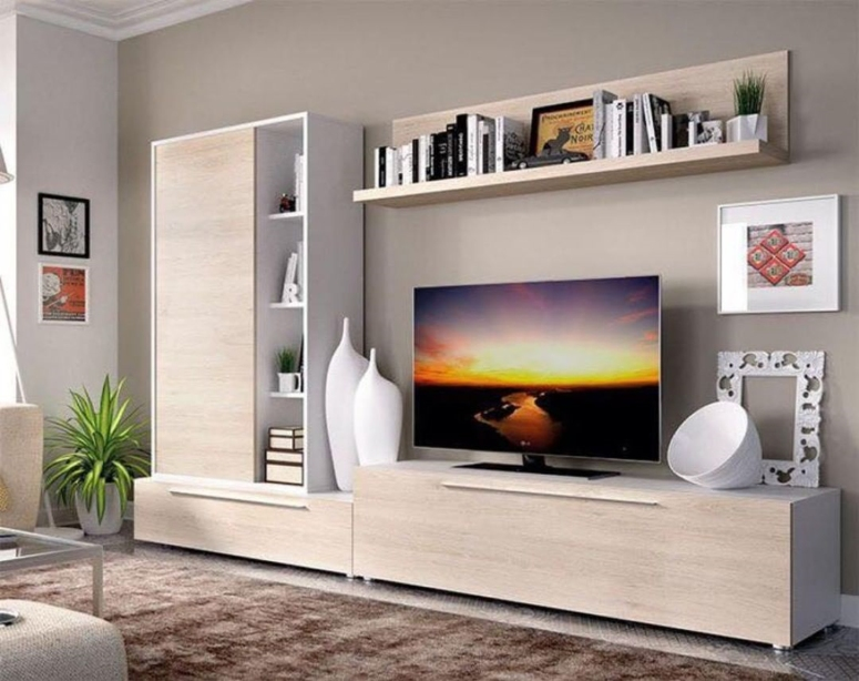 TV Entertainment Centre - mars interior royal interior designers pencil interiors Seventh Sences Architects & interiors interior designers in electronic city