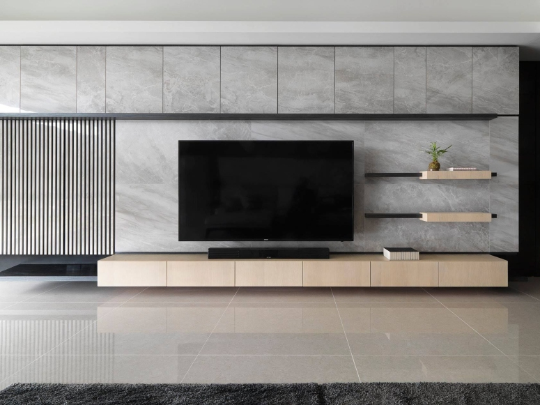 Minimal TV Unit Style apartment in kudlu gate bangalore Village Hypermart Electronic city flyover