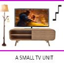 A Small TV Unit Design by Interior Era