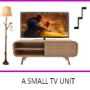 A Small TV Unit Design by Interior Era