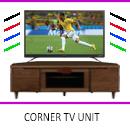 Corner TV Unit by Interior Era