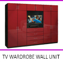 TV Wardrobe Wall Unit by Interior Era