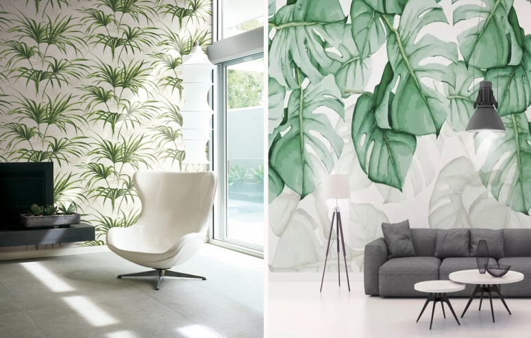 Wallpaper leaf wallpaper for living room bedroom wallpaper in electronic city bangalore