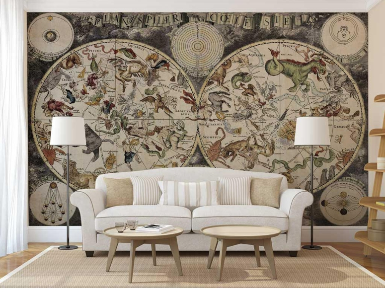 Wallpaper world map wallpaper for room pernolized wallpaper good wallpaper electronic city gohappy hypermarket