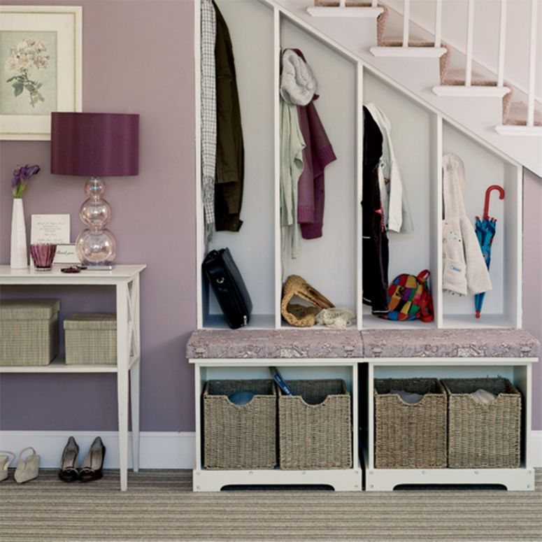 Under Stair Space to Store your Shoes and Clothes home interior design interior designers in electronic city