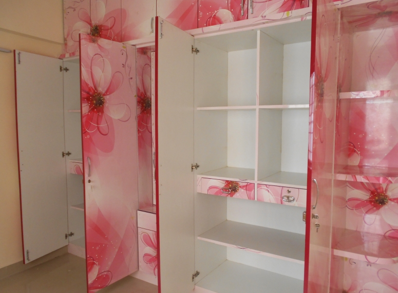 Hinged Door Wardrobe with various designs and accessories good interior design in electronic city bangalore