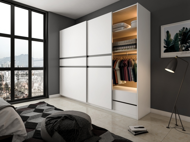 Sliding Door Wardrobe Electronic City Interiors Wardrobe for Kids house interior house design