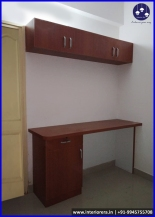 Study Unit With Bookcase