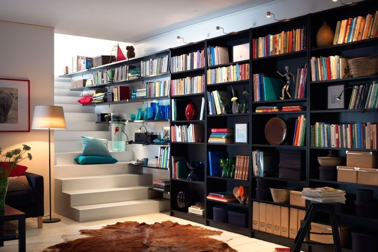 Home Library_affordable home library ideas home library ideashome library design ideas book rack ideas bookcase ideas