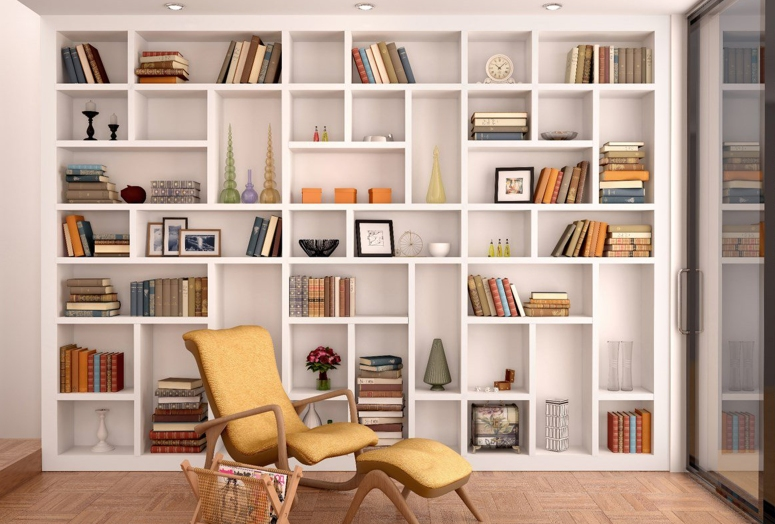 Home Library_modern home library ideas Creative Home Library Designs For a Unique Atmosphere home library accessories good interiors at electronic city bangalore