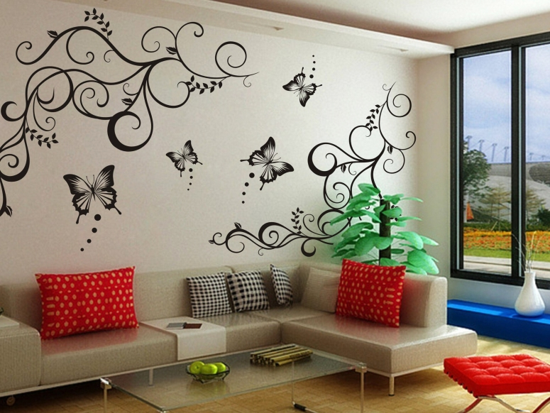 Painting and Decorating_extra large wall stencils wall stencils india paint stencils for walls list of interior designers in electronic city bangalore best interiors