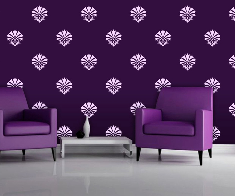 Painting and Decorating_paint stencils for walls in india bedroom wall stencils design royal design studio stencils india interior designers in electronic city home interior