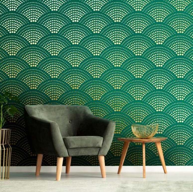 Stencil Painting_wall stencils india extra large wall stencils royal design studio home interiors in electronic city bangalore electronic city interior architecture list