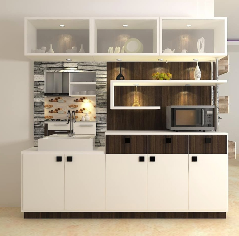 Crockery Unit Design_Best Crockery Unit Collections_Classy Crockery Cabinet Designs_Crockery Unit Design for Dining Area_home interiors near me__Bangalore Modular Kitchens
