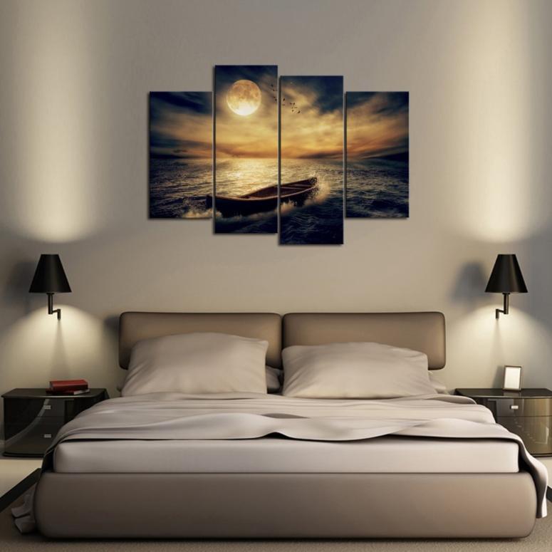 Bedroom Interior_Bedroom Art Work_Paintings for Bedroom_Canvas Painting for Bedroom _Good Interior Decorators in Electronic City_Nearest Interior