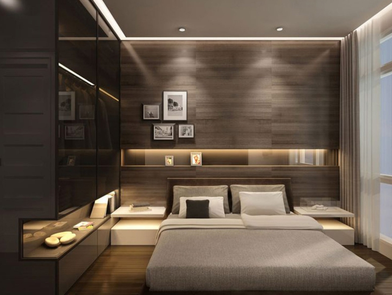 Bedroom Interior_Bedroom Interiors with Wooden Frame_Bedroom Wooden Frame Design_Bedroom Decor_Best Interiors in Electronic City Bangalore_Good Interior Decorators in Electronic City