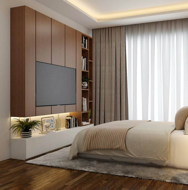 Bedroom Interior_Inspiring Modern Bedroom Ideas_Stylish Small Bedroom Design Ideas_interior designers in electronic city_good interior architects in electronic city